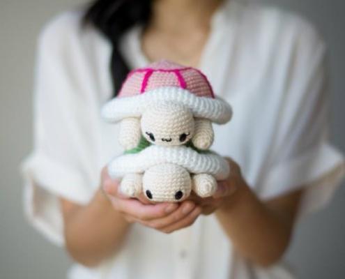 crochet a turtle