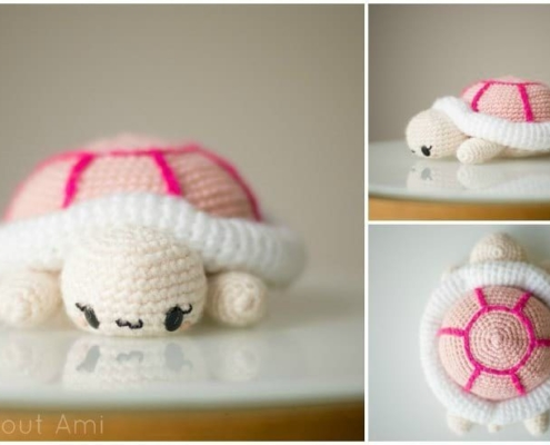 Crochet Turtle Pattern - Accessorizing your turtle