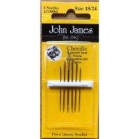 john james chenille needles set of 6