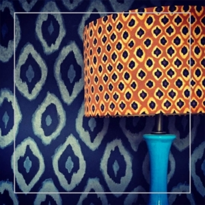 Recovered and Restored Lampshades