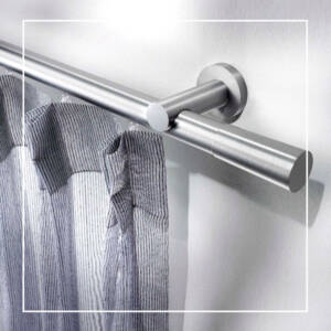 Curtain rods and accessories