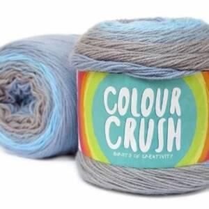 colour crush double knityarn by elle