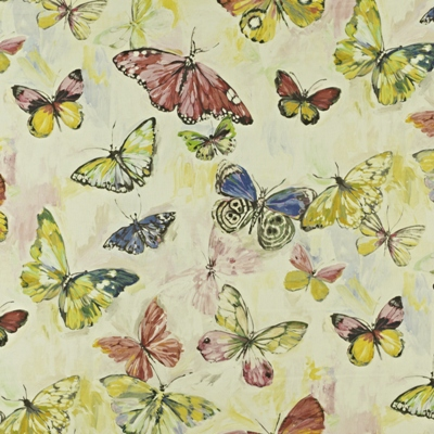 Butterfly Cloud -Hibiscus - Mardi Gras