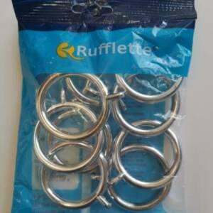 Chrome Curtain Rings