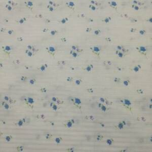 Quilting Fabric - Blue Floral