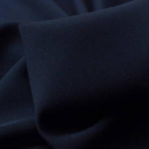 navy coloured viscose fabric