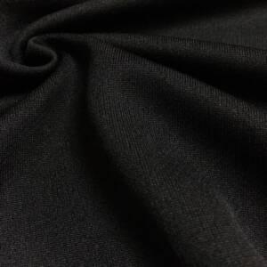 black birds eye fabric for sportswear