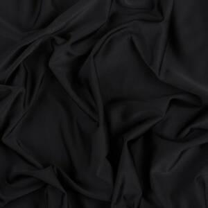 black viscose lycra fabric