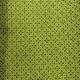 star cross design on lime green shweshwe fabric