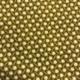 mustard coloured shweshwe fabric with windmill design