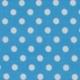 blue dot polycotton fabric