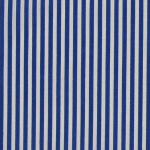 blue stripes polycotton fabric