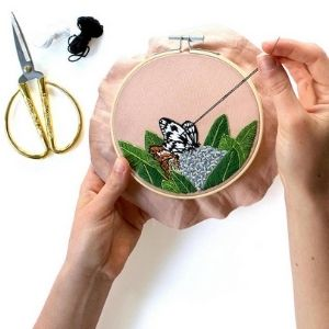 learn how to embroider