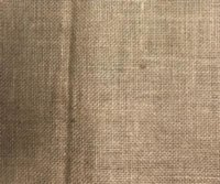 Hessian cloth for upholstery and crafting