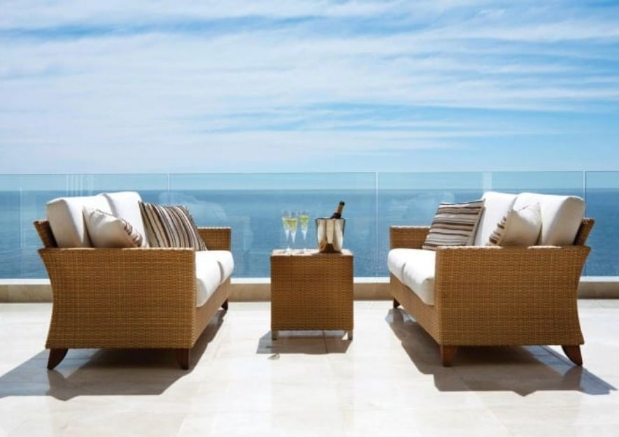Clifton Outdoor Fabric Collection for outside chairs