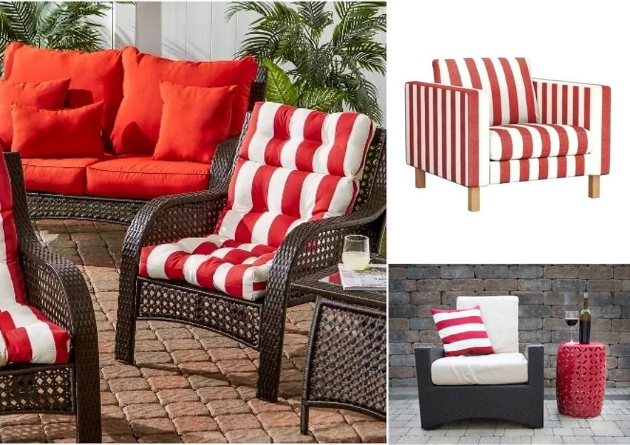 bartlett & dunster outdoor collection for the braai area