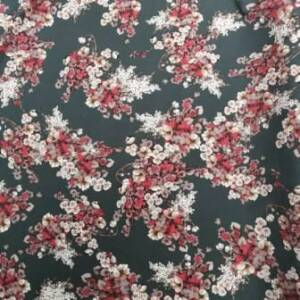 super soft fabric with flowers
