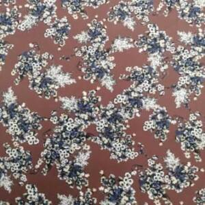 rust berry super soft fabric