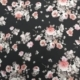 black floral fabric