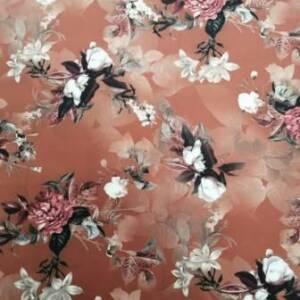 crysanthemum super soft fabric
