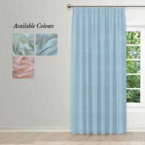 muslin taped curtains