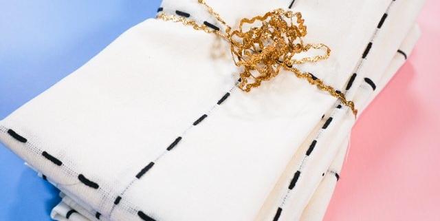 how to make linen napkins