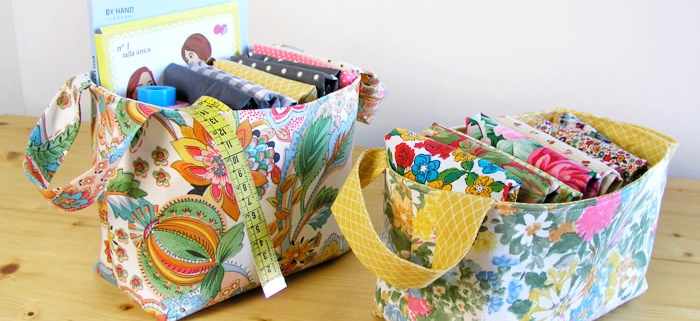 make a woven tote bag