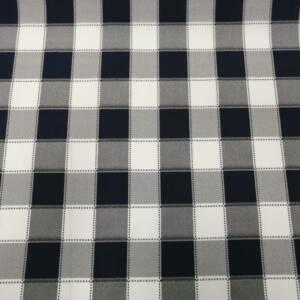 12492-B black checked mini matt