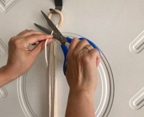 Step 6 - Cutting the Knot
