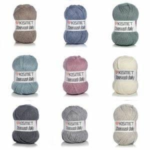 Stonewash Bulky Yarn by Kismet