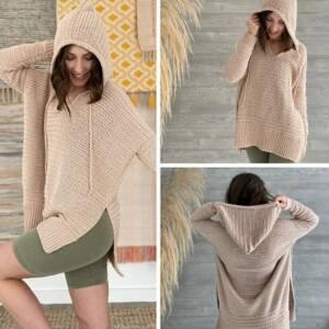 wear at home hoodie crochet pattern